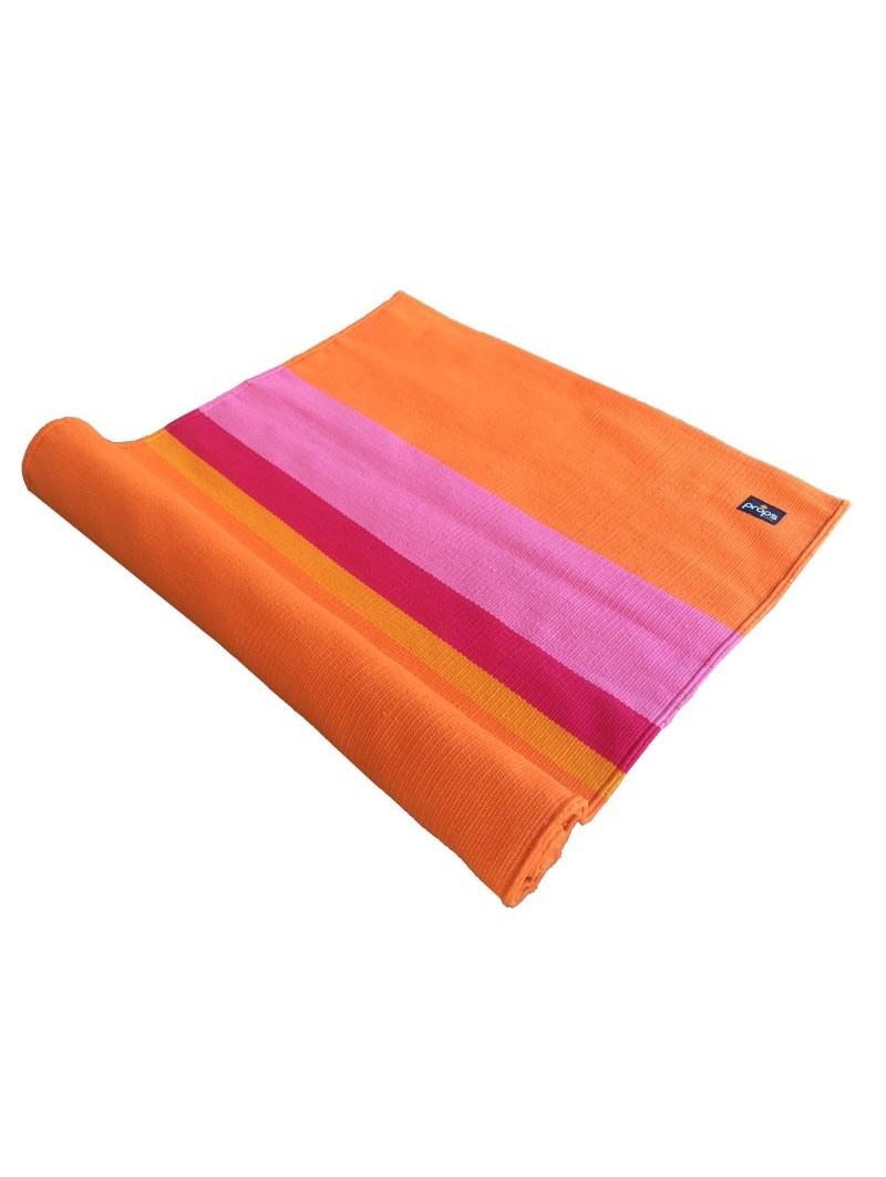 Cotton Yoga Mat Orange