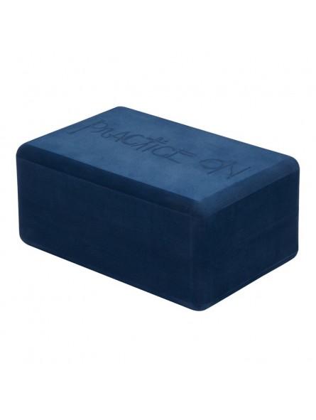 Recycled Foam Yoga Block Midnight